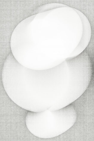 Luuk de Haan, big nothing 4, 2013, abstract photography, white, Sous Les Etoiles Gallery, New York