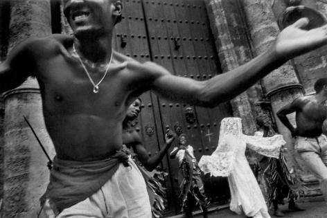 Ernesto Bazan, Cuba, Sous Les Etoiles Gallery, Bazan, Afro-cuban, dancers, Havana, dancing in the street