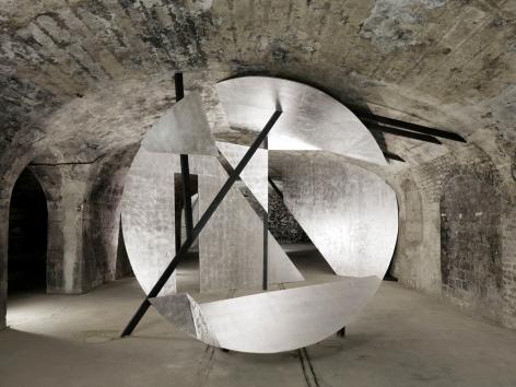 Georges Rousse, Reims, 2012, Sous Les Etoiles Gallery