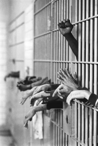 Jean-Pierre Laffont, Tomb prison, 1969, Turbulent America, Sous Les Etoiles Gallery
