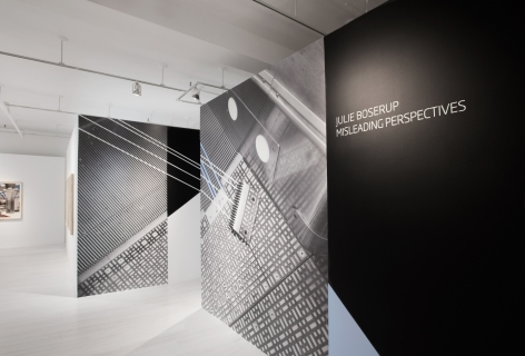 Julie Boserup: Misleading Perspectives installation at Sous Les Etoiles Gallery