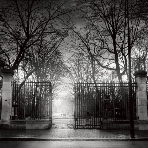 Jean-Michel Berts, The Light of Paris, Luxembourg Garden, 2005, Sous Les Etoiles Gallery