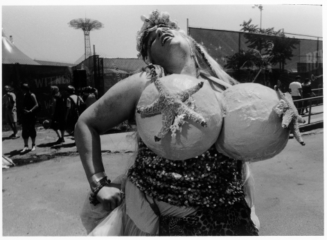 Sous Les Etoiles Gallery, Happy Mermaid, Harvey Stein, Coney Island