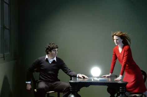 Sophie Delaporte, Post Modern Mysteries, woman and man, Sous Les Etoiles Gallery