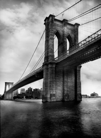 Jean-Michel Berts, Light of New York, Brooklyn Bridge 1, 2007, Sous Les Etoiles Gallery