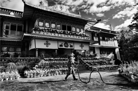 Laurent Zylberman, A Journey in Tibet, Norbulingka Palace, Former Residence of the Dalai Lama, 2008, Sous Les Etoiles Gallery