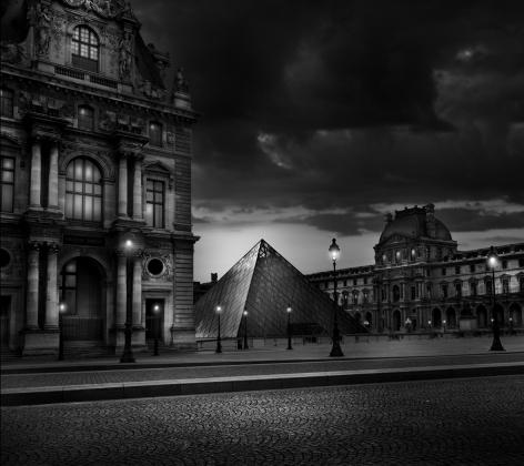Pyramide, Louvre Museum, Rue de Rivoli, La Pyramide du Louvre, Jean-Michel Berts, Tuilerie