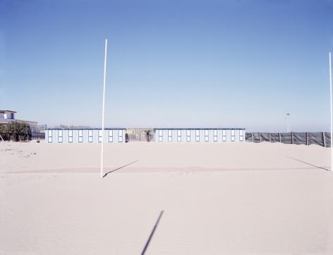 Gianfranco Pezzot, Resorts, Chioggia Bathing Hut, 2007, Sous Les Etoiles Gallery