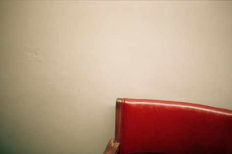 Susanne Wellm, Inner Landscapes, Sous Les Etoiles Gallery, red chair, 2002