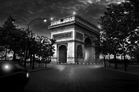Paris, France, Arc de Triomphe, Champs Elysees, Iconic Building, Jean-Michel Berts