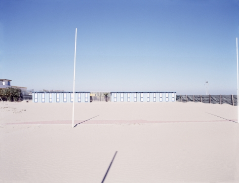 Gianfranco Pezzot, Resorts, Chioggia Bathing Hut, 2007, Sous Les Etoiles Gallery
