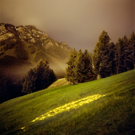 Barry Underwood, Scenes, Norquay (Yellow), 2007, Sous Les Etoiles Gallery