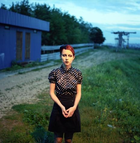 Olya Ivanova, Weirdo, Katya Budnik, 2009, The Play and Staging of the Self: Five Photographers on Identity, Sous Les Etoiles Gallery