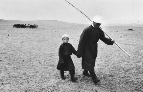 Marc Riboud, photography, Asia, China,Mongolia, Magnum, Sous Les Etoiles Gallery, New York