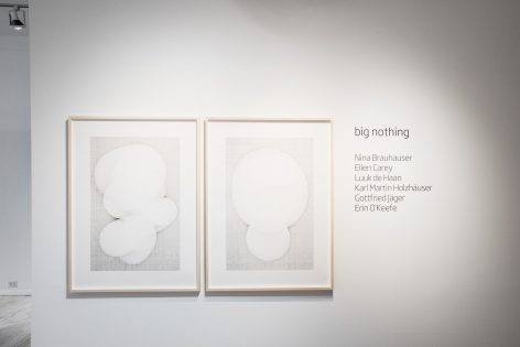 """""""big nothing"""" installation, Sous Les Etoiles Gallery 2016"""