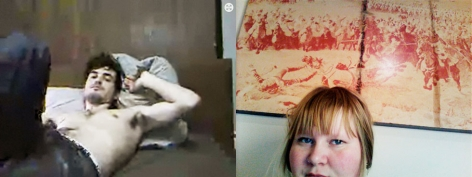 Jen Davis, webcam, The Play and Staging of the Self: Five Photographers on Identity, Sous Les Etoiles Gallery