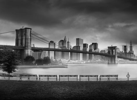 Jean-Michel Berts, Light of New York, Brooklyn Bridge 2, 2007, Sous Les Etoiles Gallery