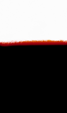 Silvio Wolf, abstraction, color, black and red,  Horizon, Sous Les Etoiles Gallery
