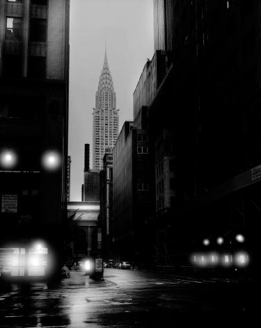 Jean-Michel Berts, Light of New York, Chrysler Tower, 2007, Sous Les Etoiles Gallery
