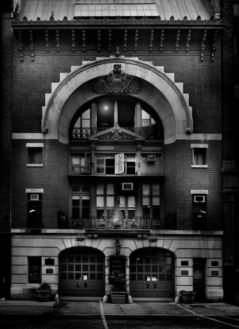 Jean-Michel Berts, Light of New York, Fire House, 2006, Sous Les Etoiles Gallery