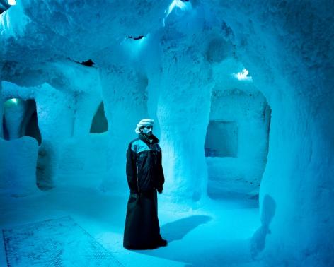 Reiner Riedler, Fake Holidays, Ice Cave, Indoor Ski Center, Dubai, 2006, Sous Les Etoiles Gallery