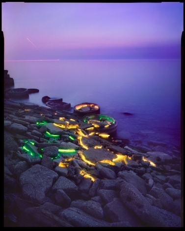 Barry Underwood, This Land is Your Land, Lake Erie, 2016, Sous Les Etoiles Gallery