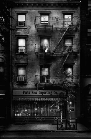 Jean-Michel Berts, Light of New York, Greenwich Village,Porto Rico, Coffee, 2007, Sous Les Etoiles Gallery