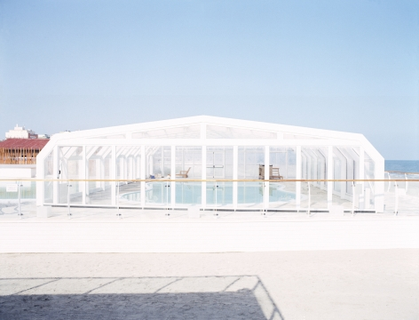 Gianfranco Pezzot, Resorts, Milano Marittima Indoor Swimming Pool, 2007, Sous Les Etoiles Gallery