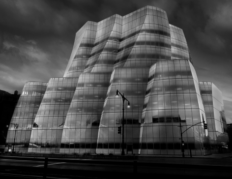 Jean-Michel Berts, Light of New York, IAC Building, 2007, Sous Les Etoiles Gallery