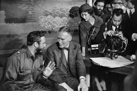 Alberto Korda, Fidel Castro and Acting Secretary of State Christian Herter, Washington, Thursday, April 16, 1959, Sous Les Etoiles Gallery