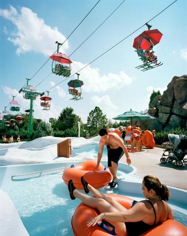 Reiner Riedler, Fake Holidays, Wintery Beach, Florida, 2005, Sous Les Etoiles Gallery
