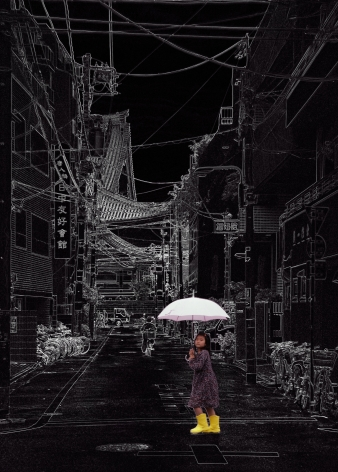 Wolfram Ruoff, Pure Lines, Tokyo Girl, 2008, Sous Les Etoiles Gallery