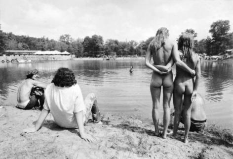 Jean-Pierre Laffont, Powder Ridge Rock Festival, Middlefield, CT,  August 1st & 2nd, 1970