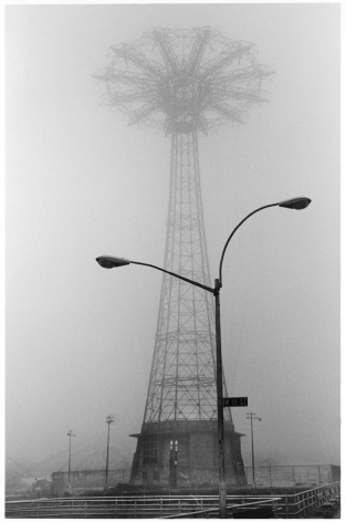 Sous Les Etoiles Gallery, Parachute Jump in the Fog, Harvey Stein, Coney Island