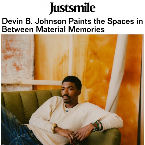 Devin B. Johnson Paints the Spaces in Between Material Memories
