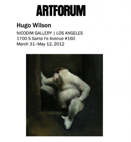 Critic's Pick: Hugo Wilson's Ideal Hauntology at Nicodim Gallery