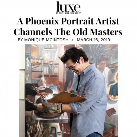 A Phoenix Portrait Artist Channels The Old Masters