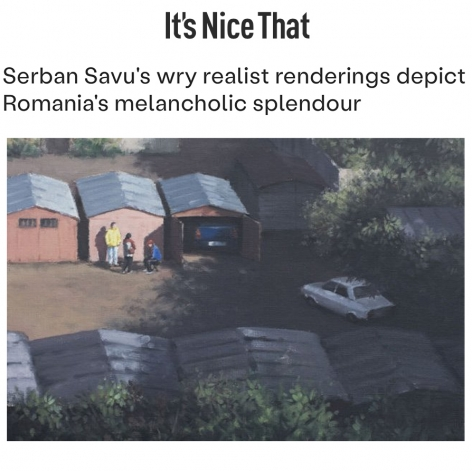 Serban Savu's wry realist renderings depict Romania's melancholic splendour