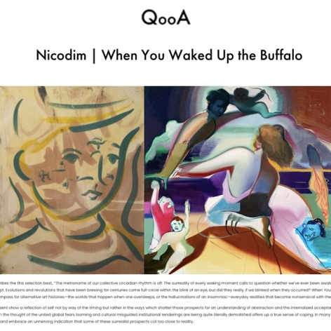 'When You Waked Up the Buffalo' featured in QooA