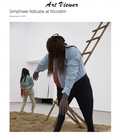 Simphiwe Ndzube at Nicodim
