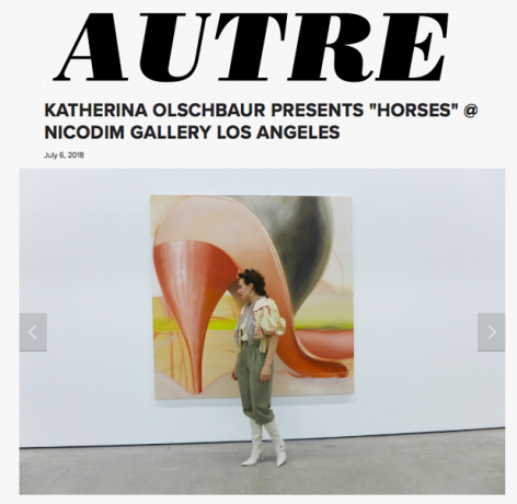 Katherina Olschbaur: Horses Featured in Autre