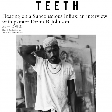 Floating on a Subconscious Influx: an interview with painter Devin B. Johnson