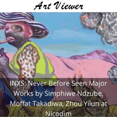 INXS: Simphiwe Ndzube, Moffat Takadiwa, and Zhou Yilun