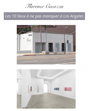 Nicodim Gallery featured in '10 Art Spaces Not to be Missed in Los Angeles'