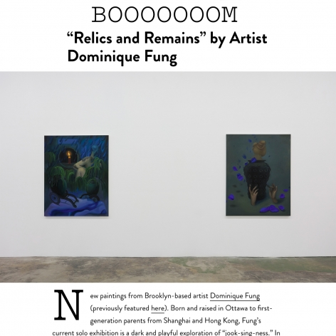 Dominique Fung featured in BOOOOOOOM