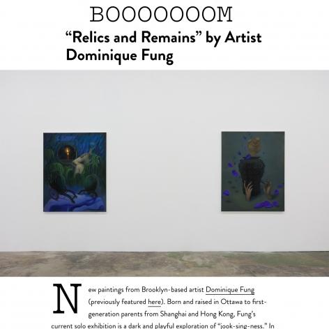 Dominique Fung featured in BOOOOOOOM