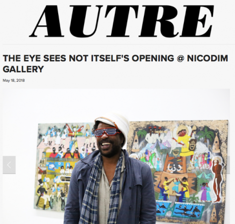 The Eye Sees Not Itself's Opening Featured in Autre