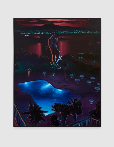 Yarber - Untitled (Man over Pool)