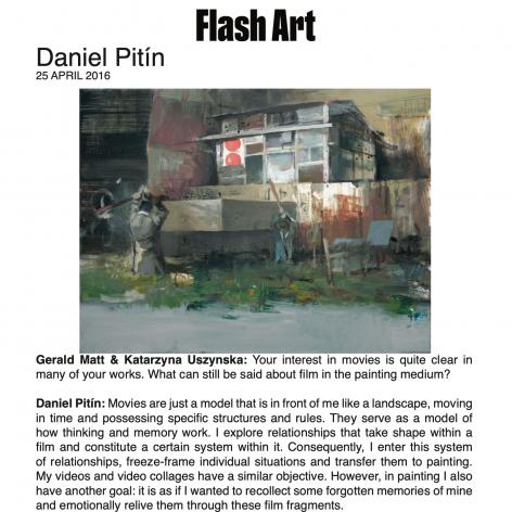 In Conversation: Daniel Pitín