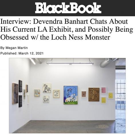 Interview: Devendra Banhart Chats About His Current LA Exhibit